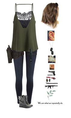"The Walking Dead Season 8 Episode 2 ""The Damned"" by mollyr5 on Polyvore featuring polyvore, fashion, style, River Island, Rocio, 5.11 Tactical, Farrow & Ball, Cold Steel, me you, GAS Jeans and clothing"