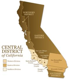 Central District of California; 341 Meeting Locations