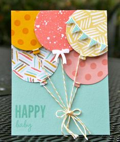 This card was designed for my February Celebrate Today Online Stamp Class. You can find out the details of how to make this card on my blog: http://krystalscardsandmore.blogspot.com/2015/03/stampin-up-celebrate-today-coastal-coral.html