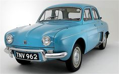 Renault Dauphine. Superbe! Rode in a friend's years ago. 3-spd. trans., gutless wonder!