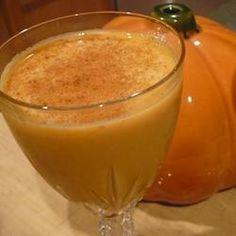 Pumpkin Spice Martini Recipe