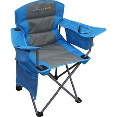 Buy Wanderer Kids' Cooler Arm Chair (Blue) online and save! Heading off on a family camping adventure or to a sporting event with the kids? Ensure you are well equipped with a Kids Cooler Arm Chair by Wanderer!