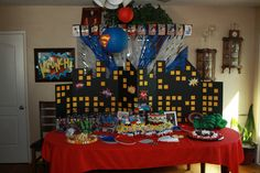 Superhero 1st Birthday Party By: Jennifer Powell at J.Powell's Creative Solutions