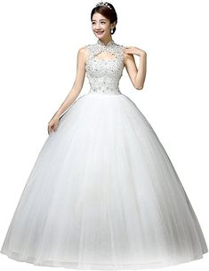 cf3b6481315a online shopping for Clover Bridal Vintage High Collar Pearl Wedding Dress  For Bride White Under 100 from top store. See new offer for Clover Bridal  Vintage ...
