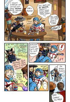 Gyro and Johnny antics by *rijinks on deviantART