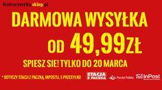 Od 49.99 zł realizujemy zamówienia e-przesyłką, na stacje Orlenu oraz do paczkomatu ZA DARMO! http://www.kulturystyka.sklep.pl/