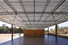 Lizard Log Amenities developed by Chrofi. Find all you need to know about Lizard Log Amenities products and more from Bookmarc. Outdoor Pavilion, Building Structure, Steel Buildings, Koh Samui, Steel Frame, Canopy, My House, Public, Australia
