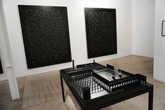"""Jorge Méndez Blake #Exposición """"Nocturnos"""" #TravesíaCuatro #Madrid #Arte #Art #ContemporaryArt #ArteContemporáneo #Escultura #Arterecord 2016 https://twitter.com/arterecord"""
