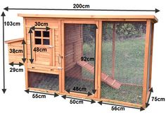 Chicken Tractor Plans 584201382902900278 - Super Large Premium Chicken Coop Source by marinetassery Mobile Chicken Coop, Easy Chicken Coop, Diy Chicken Coop Plans, Chicken Home, Chicken Cages, Portable Chicken Coop, Backyard Chicken Coops, Building A Chicken Coop, Chickens Backyard