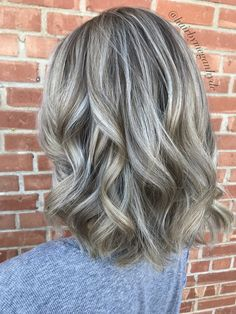 Dimensional blonde balayage - All For Hair Cutes Ashy Blonde Hair, Blonde Highlights On Dark Hair, Grey Blonde, Blonde Balayage, Peekaboo Highlights, Purple Highlights, Blonde Dimensional, Dimensional Highlights, Blonde Grise