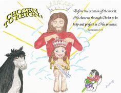 Miss Eternity is crowned Ephesians 1:4