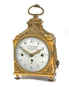 New Focus On | A Louis XVI Ormolu Officer's Clock