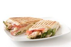 Note from Mona: Dr. Oz adapts a chicken & spinach panini recipe from Cooking Light. Looks yummy! :-)
