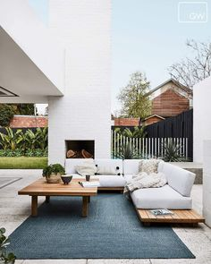 If you are looking for Outdoor Living Spaces, You come to the right place. Here are the Outdoor Living Spaces. This post about Outdoor Living Spaces was posted under. Design Exterior, Interior Exterior, Home Interior Design, Salas Lounge, Outdoor Rooms, Outdoor Decor, Outdoor Living Spaces, Outdoor Ideas, Outdoor Lounge Furniture