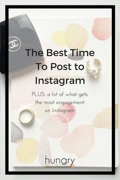 Are you tying to figure out The Best Times to post to Instagram now that the Instagram algorithm has kicked in? This blog post shows you how you can find the best time to post to Instagram for your unique account, rather than a generalized time. PLUS you'll also get a list of things you can do to get the most engagement for your posts.