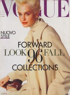 Vogue Italia July 1996 : Kylie Bax by Steven Meisel Photo Steven Meisel