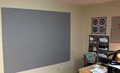 new design wall!
