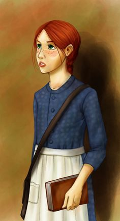 Anne of Green Gables by *MartyTee on deviantART