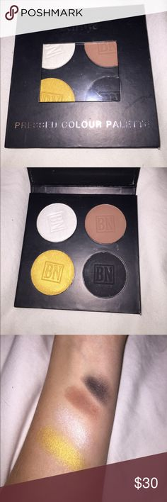 Ben Nye eyeshadow palette Never been used! Brand new Ben Nye eyeshadow pallets with four different eye shadows.Love the item, not the price? Make an offer! Ben Nye Makeup Eyeshadow