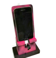 Phone Dock Galaxy S4 / S5 Charging Station Holder FREE by Ntoys $29.99 New Camo PINK!
