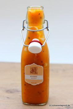 Schöner Tag noch! Food-Blog mit leckeren Rezepten für jeden Tag: Apfel-Rosinen-Frikadellen mit selbstgemachtem Kürbis-Ketchup