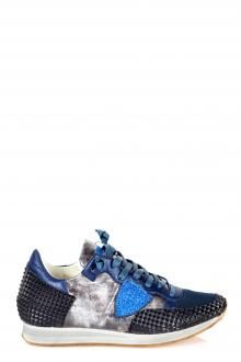 PHILIPPE MODEL - SNEAKERS - 240641 - NERO/BLU http://www.commetoi.it/eshop/index.php