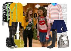 """""""Shake It Up - Rocky e Cece"""" by bellla-zendaya ❤ liked on Polyvore featuring MHL by Margaret Howell, Hollister Co., Betsey Johnson, Blowfish, Topshop, Tory Burch, American Eagle Outfitters, ASOS, Ash and Meadowlark"""