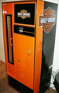 60's Harley Davidson Beer Soda Pop Vending Machine Vendorlator Vendo | eBay