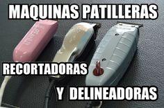 MAQUINAS PATILLERAS RECORTADORAS Y DELINEADORAS DE PELO