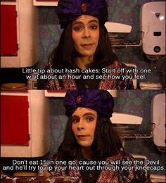 """18 Genius Lines From """"The Mighty Boosh"""" You Need To Relive British Humor, British Comedy, English Comedy, Julian Barratt, The Mighty Boosh, It Crowd, Noel Fielding, Through Time And Space, Word Of Advice"""