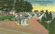 Motel Americana - Postcards