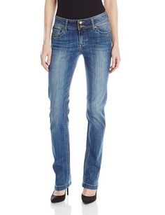 nice Women's Stevie Straight Leg Double Button Jean In Sedate - For Sale Check more at http://shipperscentral.com/wp/product/womens-stevie-straight-leg-double-button-jean-in-sedate-for-sale/