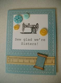 SewGlad by Judy'sSister - Cards and Paper Crafts at Splitcoaststampers