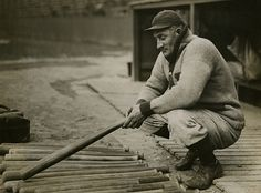 Honus Wagner's Search for the Perfect Bat