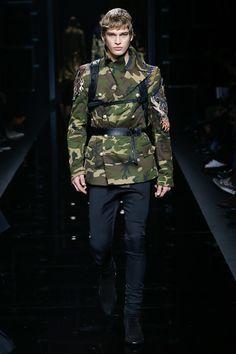 ~ Living a Beautiful Life ~ Balmain Fall 2017 Menswear Fashion Show Collection