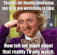 Hahahaha.  WWE is the male soap opera..lol