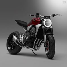 Honda unveiled it's Neo Sports Café Concept motorcycle at Tokyo Motor Show The news is that Honda production bike heads to EICMA show that take place in Italy & started from November work on designing that we see in this bike. Honda Cb1000r, Motos Honda, New Honda, Honda Motorcycles, Custom Motorcycles, Custom Bikes, Cafe Racer Honda, Cafe Racer Bikes, Cafe Racer Motorcycle