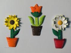 flores en foami paso a paso - Buscar con Google