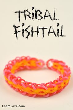 How to make a Rainbow Loom Tribal Fishtail