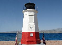 The Vermilion lighthouse replica on Lake Havasu is amazing but check out the original in Ohio - http://ourtravelingblog.com/2015/10/26/lake-havasu-lighthouse-replicas-part-3/