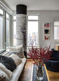 Apartamento de Allan Greenberg  (Foto: Bruce Buck / The New York Times)