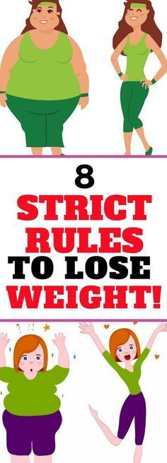 8 STRICT RULES YOU NEED TO FOLLOW IF YOU WANTED TO LOSE WEIGHT! Read!!!!