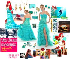 """the little mermaid"" by samantha-edlin on Polyvore"