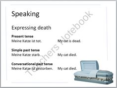 German Funeral PowerPoint Unit with Activity and Quiz product from Tom-Neuschafer on TeachersNotebook.com