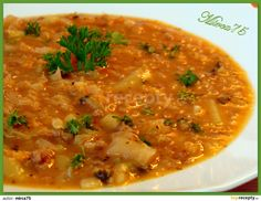 Czech Recipes, Ethnic Recipes, Soup Recipes, Recipies, Yams, Weight Loss Smoothies, Curry, Food And Drink, Yummy Food