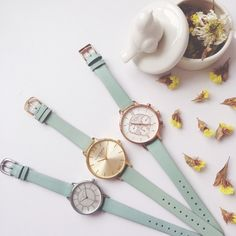 Mint for May! Which pretty pastel style is your fave? Pastel Fashion, All Fashion, Mint Shop, Pastel Style, Spring Watch, Olivia Burton, Pretty Pastel, Everyday Look, Anklets