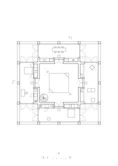 Image 11 of 23 from gallery of Solo House / Pezo von Ellrichshausen. Third Floor Plan