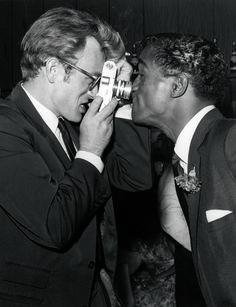 James Dean & Sammy Davis Jr