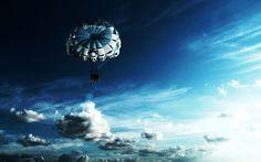 Sky Parachuting  #Parachuting #Sky