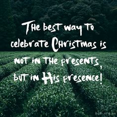 Remember Jesus is the reason for the season!